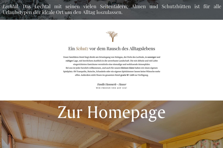 Winklerhof Homepage
